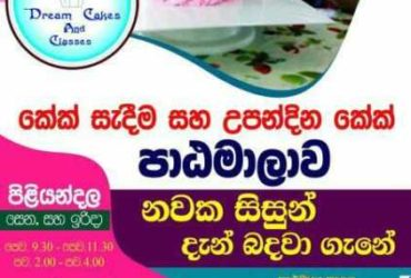 Cake Classes Pannipitiya