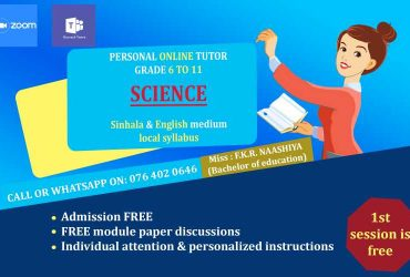 Mathematics and Science Classes