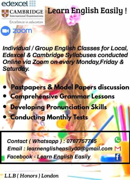 Join with us to make your English perfect !