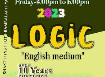 Logic Class (English Medium)
