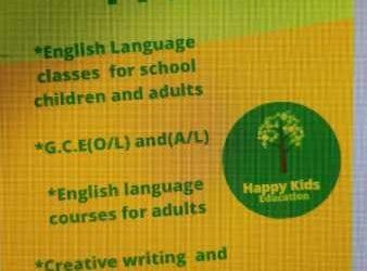 English Language Classes
